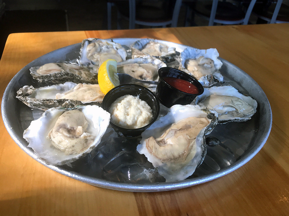 Oysters on the half shell offer a literal taste of the sea.
