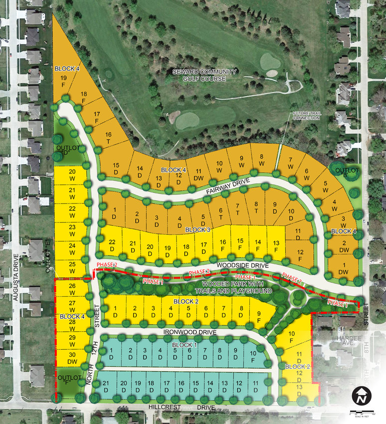 The recently-approved Fairway Woods Addition will add 82 homes to Seward south of the Seward Community Golf Course. In addition to the homes, the developers are donating around 2.5 acres of land near the center of the development for a community park.