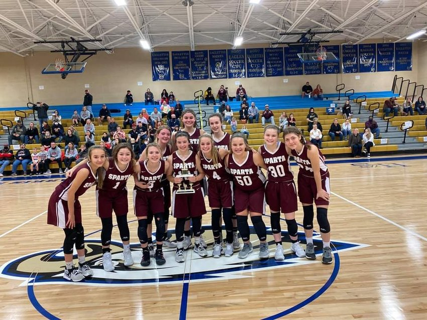 WCMS girls place second in the CTC tournament.
