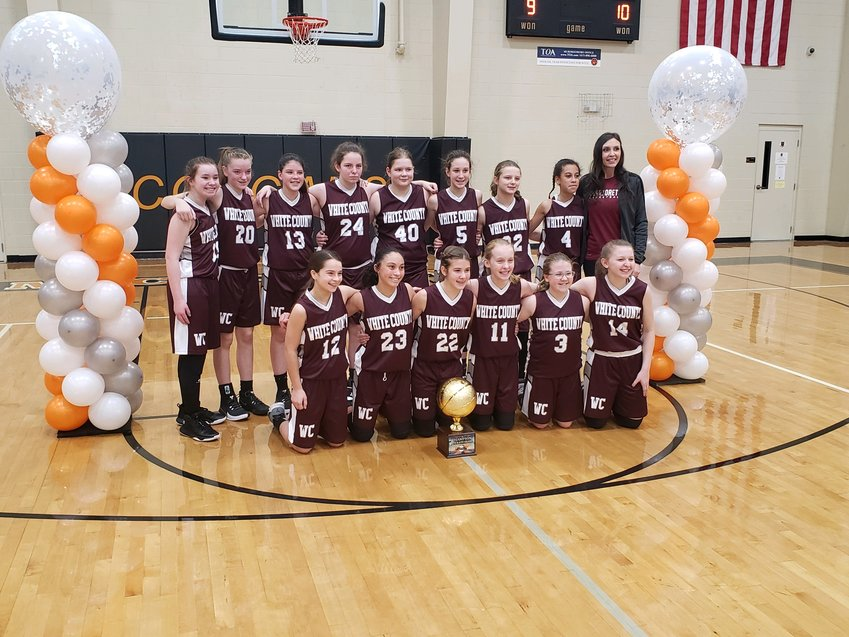 WCMS Warriorettes 6th grade AA State Champs at James C. Haile Tournament