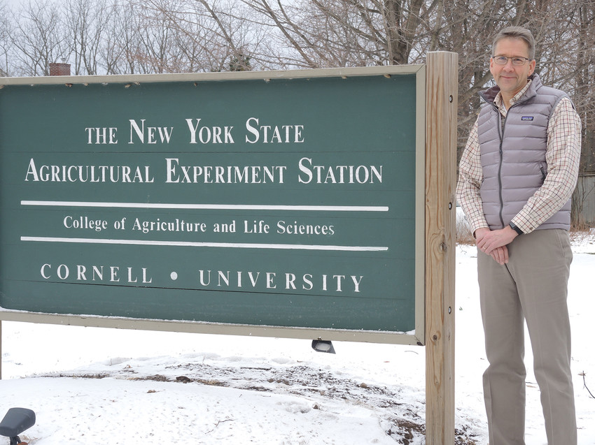 Photo by Sue Henninger / Tompkins Weekly.Jan Nyrop is director of the New York State Agricultural Experiment Station in Geneva.