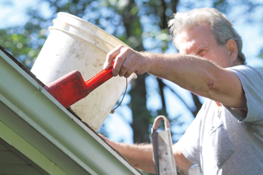 Photo by MetroCleaning out your gutters is something that will help keep your home in good shape heading into the winter.
