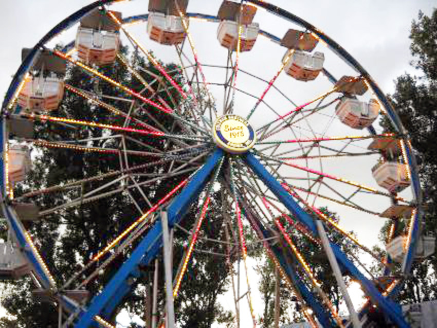 Photo ProvidedThe Ferris wheel is just one of the approximately 25 rides on hand at the 167th annual Trumansburg Fair.