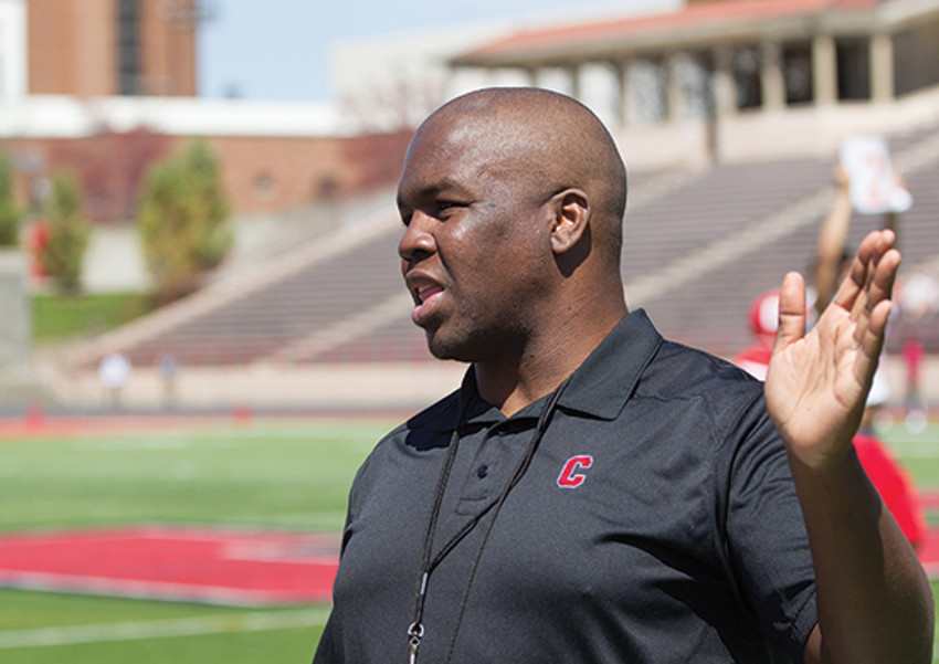 David Hanna previously served as a positions and special teams coach for the Cornell football team.
