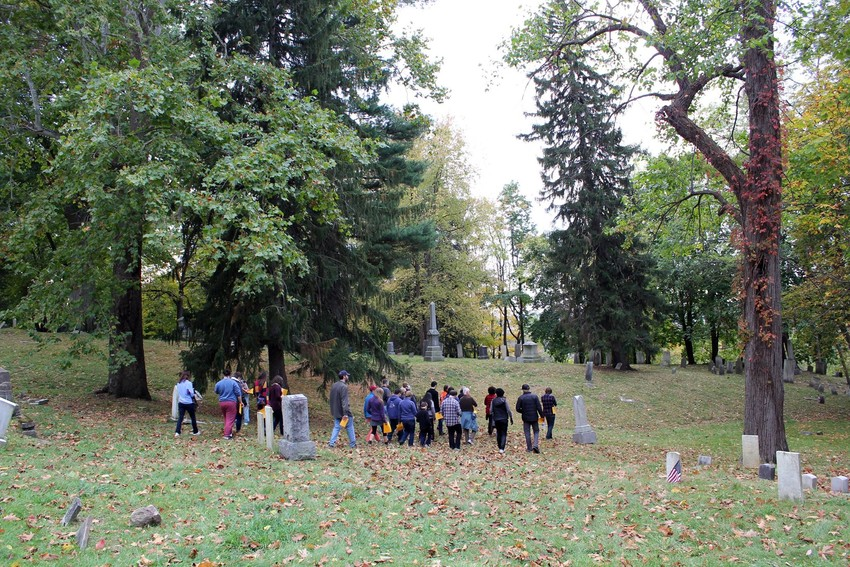 Get your fill of local spooky history with a tour of the Ithaca City Cemetery, held throughout the month of October and organized by Historic Ithaca!