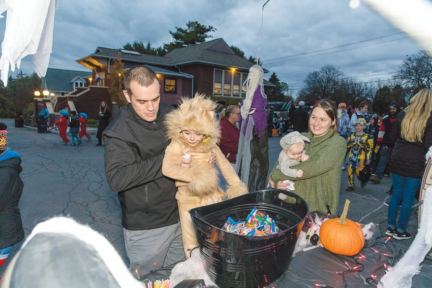 "Lansing's second annual ""Trunk or Treat"" Halloween celebration will be  Oct. 31 from 6 to 7:15 p.m. at the Town Hall. Sign up by Oct. 15 to  host a trunk for the event. Photograph by Diane Duthie"