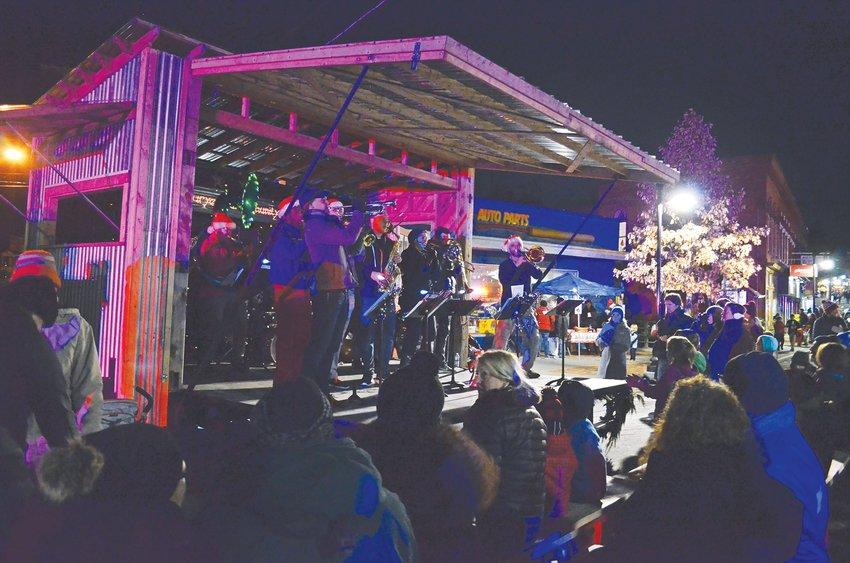 Fall Creek Brass Band returns to Trumansburg WinterFest Saturday, Dec. 1 at 5 p.m.