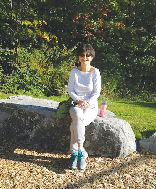 Katherine Doob merged several of her passions when she created a scholarship fund at the Ithaca Children's Garden specifically for refugee families to use in order to access programming at the garden that has a fee.