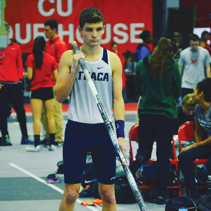 Mikula has vaulted his way to an Ithaca College record and national recognition as the second highest vaulter in Division III.  With a new record under his belt, he turns his attention to the national meet.