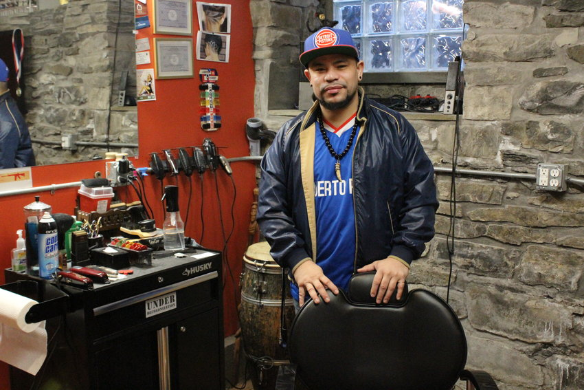 "Crucito ""Cruz"" Colon has dreamed of opening a barbershop that gives back to the community for years."