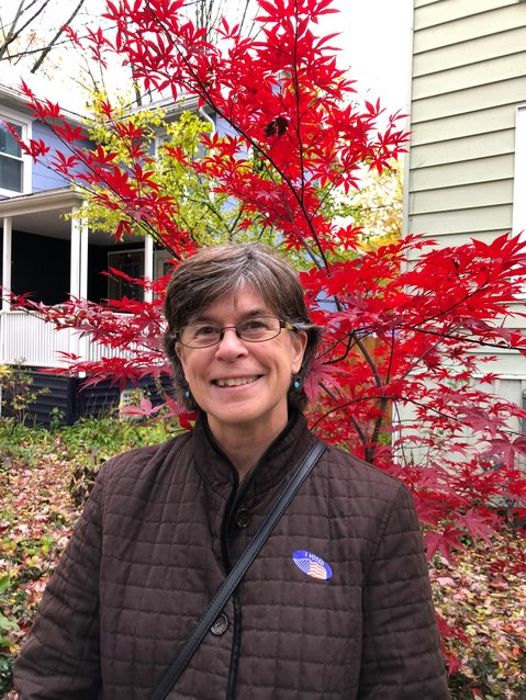 Common Council Fifth Ward representative Laura Lewis is running for re-election this year. Housing and making Ithaca a walkable, livable city are just a few of her priorities.