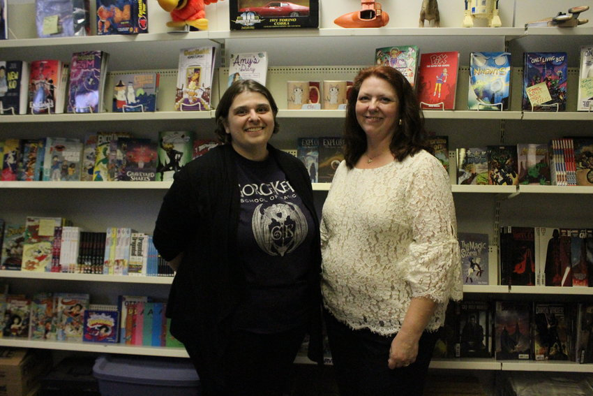 Festival creator Darlynne Overbaugh, left, and FanUnity Inc. Executive Director Kathy Servoss, right, are on the search for board members for their new not-for-profit.