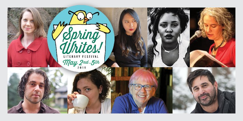 Each Spring Writes Fest is a little different. While many local artists continue to come back to the festival, new artists join as well, with new events and workshops each year.