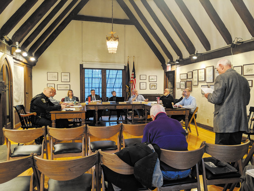 Residents of the Village of Cayuga voice opposition to the way the board added a stipend for themselves into the budget passed last year, and again this year.