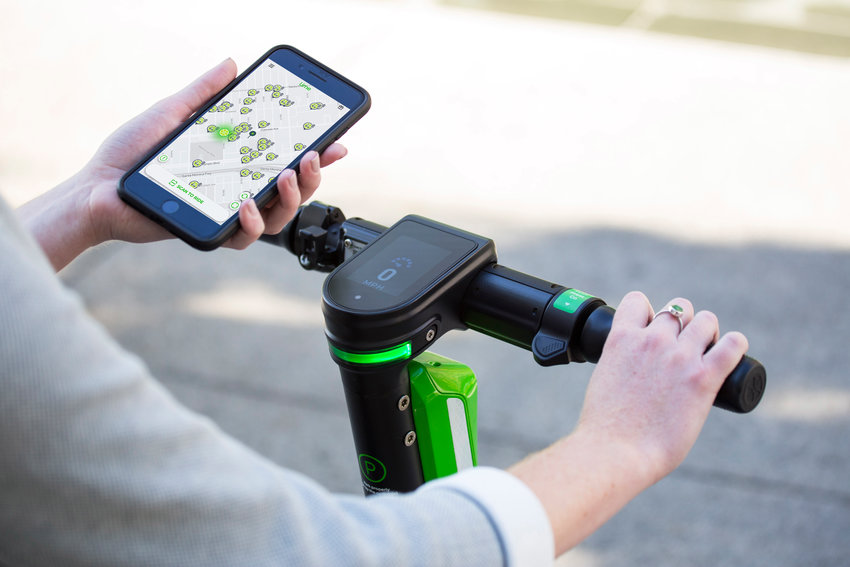 Paying for a Lime scooter is just as simple as paying for a Lime bike, and uses the same app.