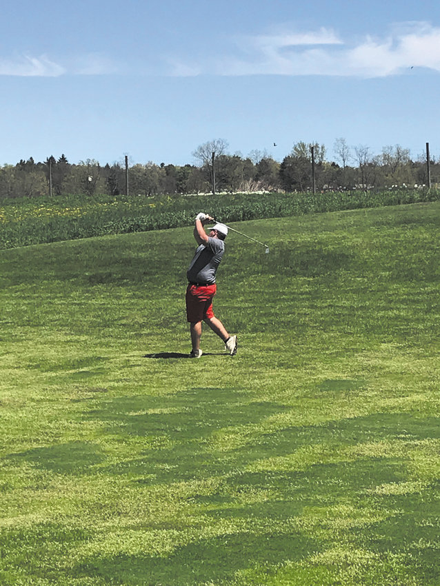 Dryden's Kevin Gardner has earned medalist honors 14 times during his team's undefeated campaign in 2019.