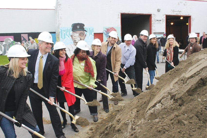 Greenstar broke ground on the new building last November with the help of local elected officials and business leaders.