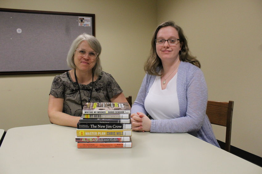 Teresa Vadakin and Sophia McKissick have already started curating more books for the TCPL collection for formerly incarcerated individuals.