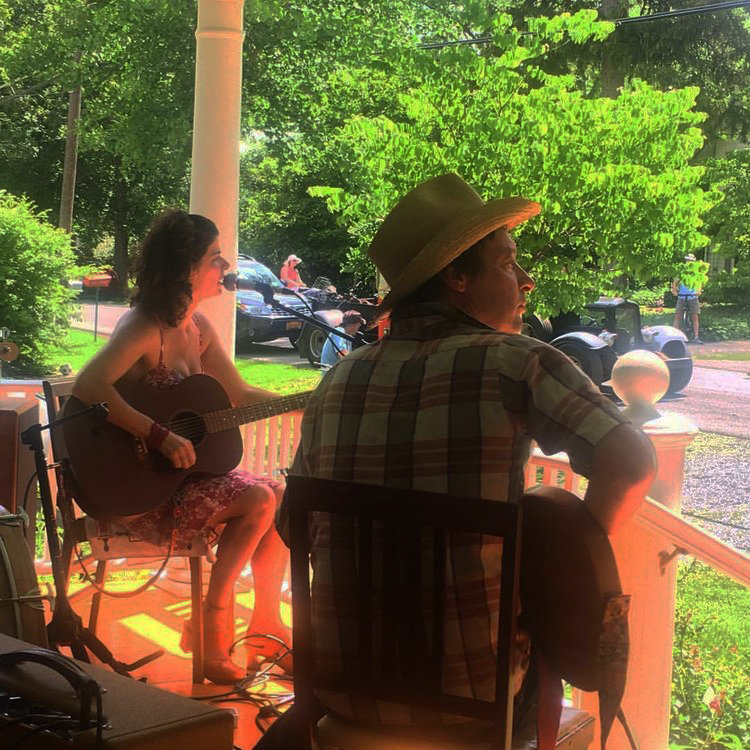 Amy and Ward Puryear of Laila Bell will perform once again on 32 Washington St. from 3 to 4 p.m.
