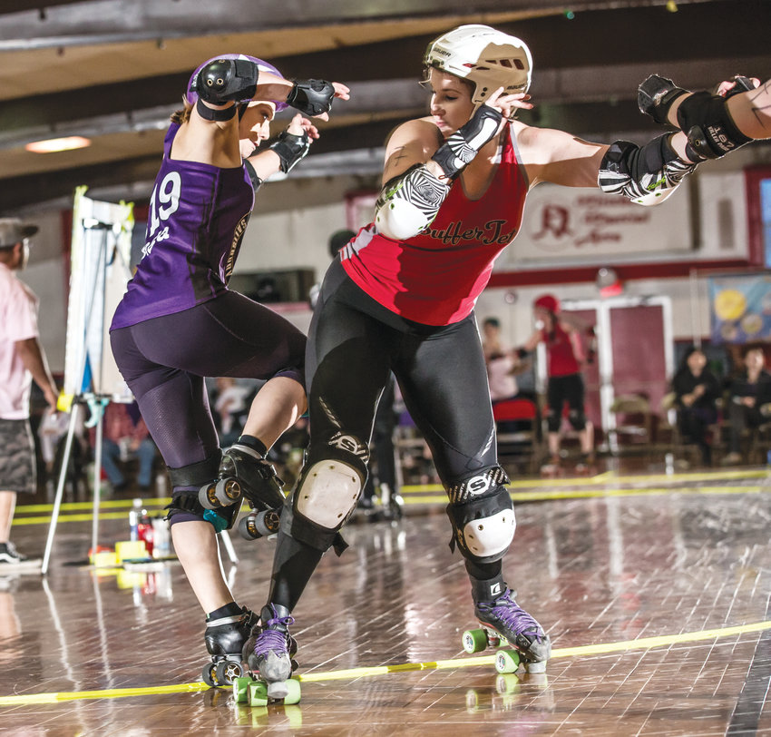 The Ithaca League of Women Rollers provides a hard-hitting atmosphere and a drive to provide an opportunity for women to compete in a competitive sports.