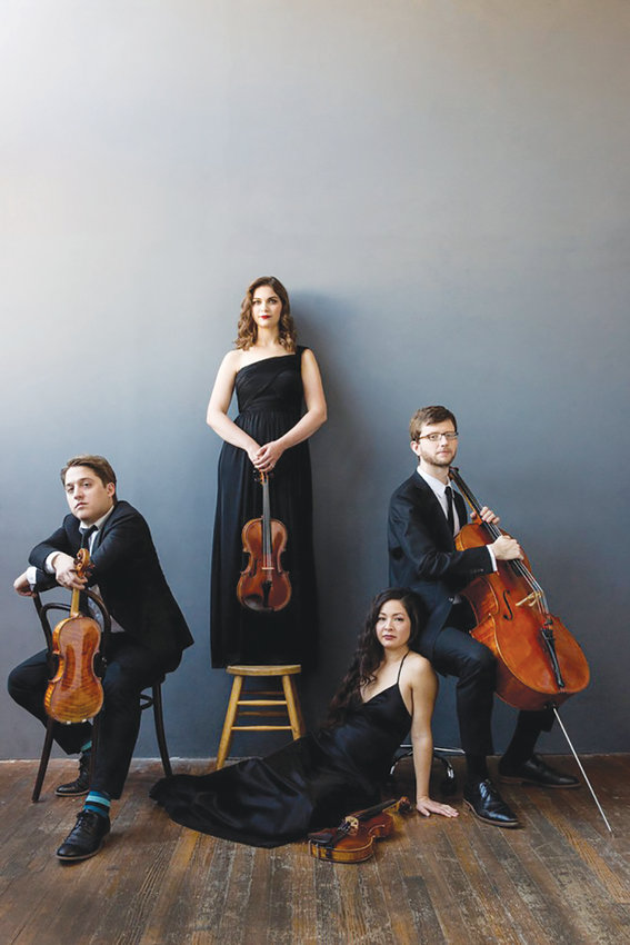 The Aeolus Quartet from New York City performs July 16 in Sage Chapel.