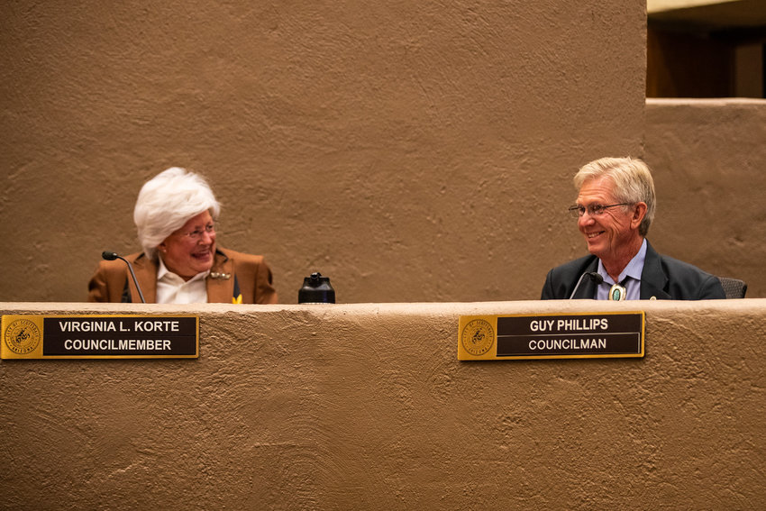 It's an election year atop Scottsdale City Council where strange bedfellows often emerge --- for a time Council members Guy Phillips and Virginia Korte were on opposite sides of the political spectrum, but today often they vote alike.