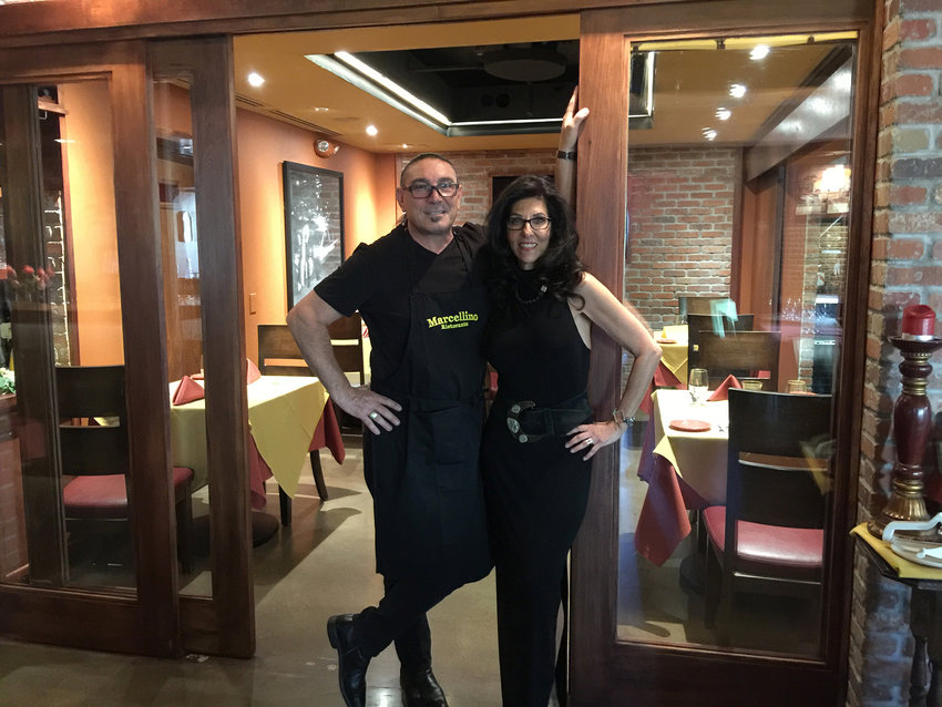 The proprietors of Marcellino Ristorante --- a staple of Old Town Scottsdale cuisine
