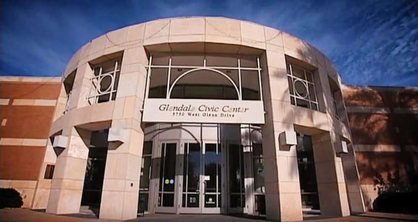 Glendale Civic Center, 5750 W. Glenn Drive. [Submitted photo]