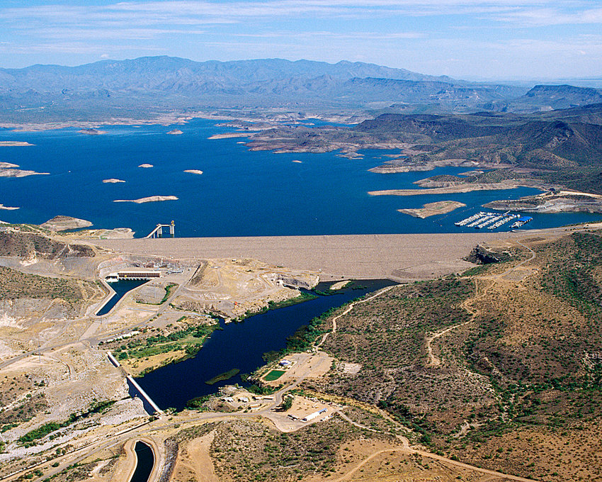 The New Waddell Dam at Lake Pleasant wil play host to the annual Dam Cancer Run/Walk, Four races are offered, each starting early in the morning of Oct. 12 at Pleasant Harbor.
