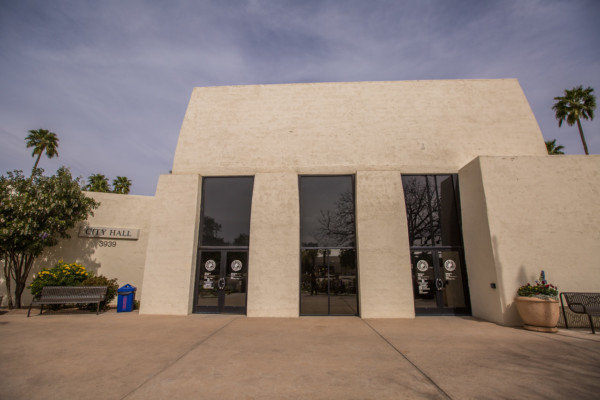 Scottsdale City Hall is at 3939 N. Drinkwater Blvd.