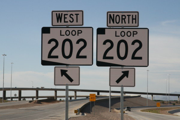 The westbound Loop 202 Santan Freeway is to be closed between Loop 101 Price Freeway and I-10 from 8 p.m. Friday to 5 a.m. Monday (Sept. 21).