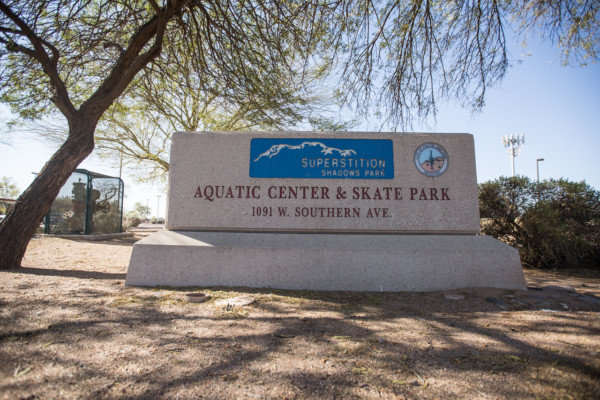 The Superstition Shadows Park and Aquatic Center is at 1091 W. Southern Ave. in Apache Junction.
