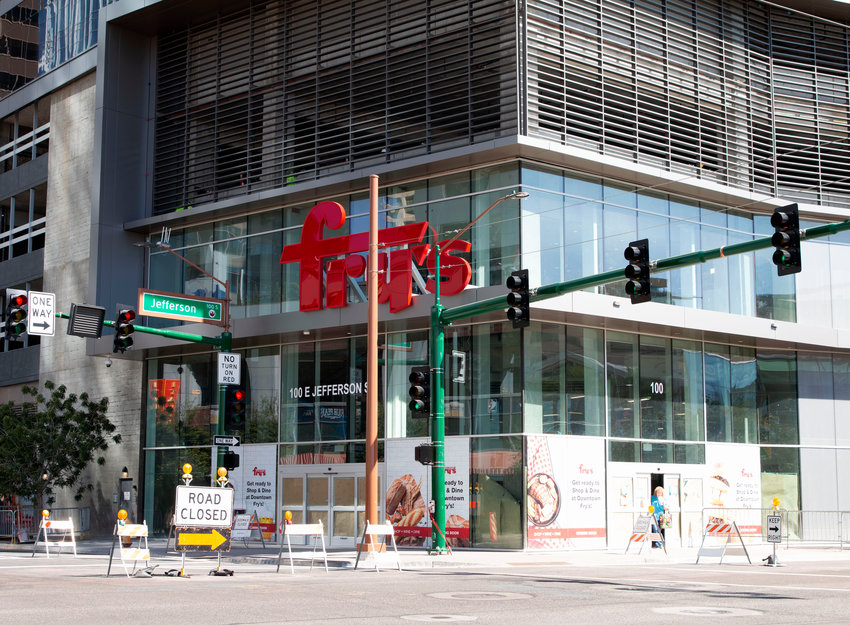 The grand opening of a Fry's Food and Drug Store on the morning of Oct. 23, 2019 will change downtown Phoenix from food desert to one accessible to those living within 1 mile. It's the first full-service grocery store in downtown.