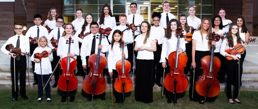 The West Valley Youth Orchestra is open to young students across the West Valley.