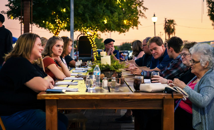 Pop-up restaurants are part of the Second Saturday festivities in Peoria.