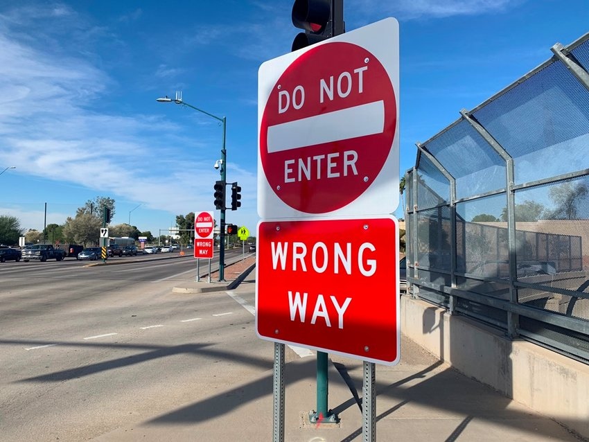 Updated, more noticeable wrong way signs are among countermeasures the state is using to reduce the risk of serious crashes caused by wrong-way drivers.