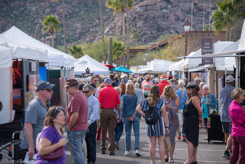 The Annual Fall Carefree Fine Art & Wine Festival is slated for Nov. 1-3 in downtown Carefree.