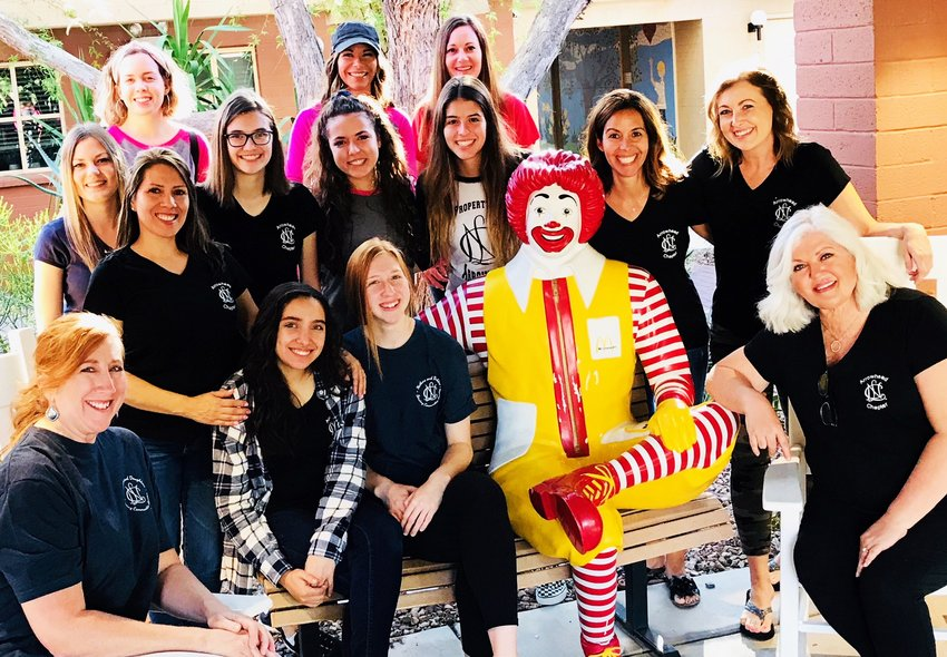 National Charity League members volunteer to support the Ronald McDonald House in a previous effort. [Submitted photo]