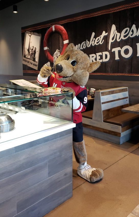 Ahipoki restaurants throughout the Valley will raise money for the Arizona Coyotes Foundation throughout December.