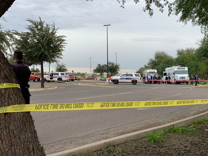 The Phoenix Police Department responded to an officer-involved shooting Dec. 23, 2019 near 75th Avenue and Thomas Road.