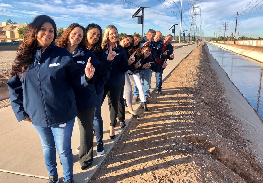 """Employees from Salt River Project's Southside Water group have formed an informal grassroots team called """"131 Can Be Done."""""""