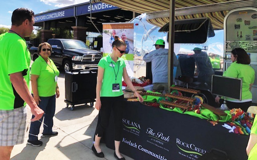 The Victory Bistro at The Park at Surprise's colorful presentation was an award winner at the 2019 Taste of Surprise.