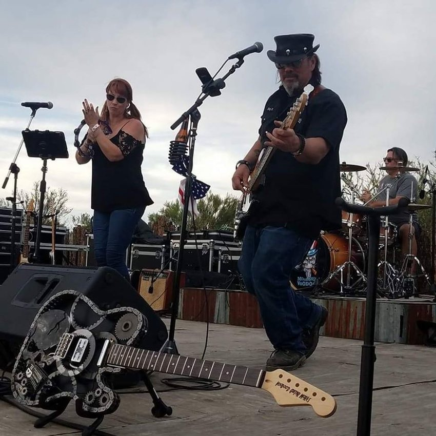 The Moonshine Voodoo Band performs. [Submitted photo]