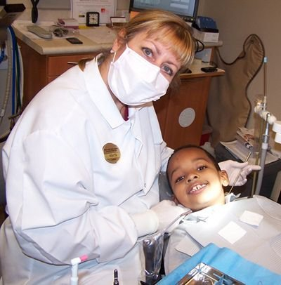 According to the U.S. Department of Health and Human Services, approximately 108 million Americans are living without dental insurance. The above photo is from freedentistryday.org.