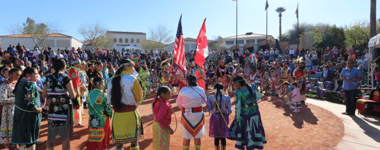 The public is welcome to see top American Indian and Canadian First Nations hoop dancers compete in the 30th Annual World Championship Hoop Dance Competition on Saturday, Feb. 8 and Sunday, Feb. 9 at the Heard Museum, 2301 N. Central Avenue in Phoenix.