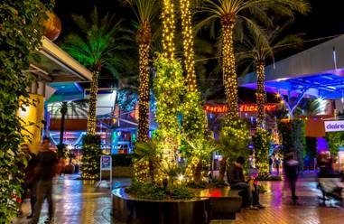 The holiday lights will make their debut tonight, Friday, March 20 at Tempe Marketplace, 2000 E. Rio Salado Parkway in Tempe, and Desert Ridge Marketplace, 21001 N. Tatum Blvd. in Phoenix.
