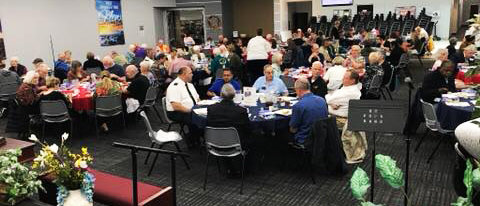 Earlier this month on March 11, the Salvation Army Sun Cities West Valley Corps in Surprise treated their many volunteers to a lunch with special music, awards and lessons about The Salvation Army history.