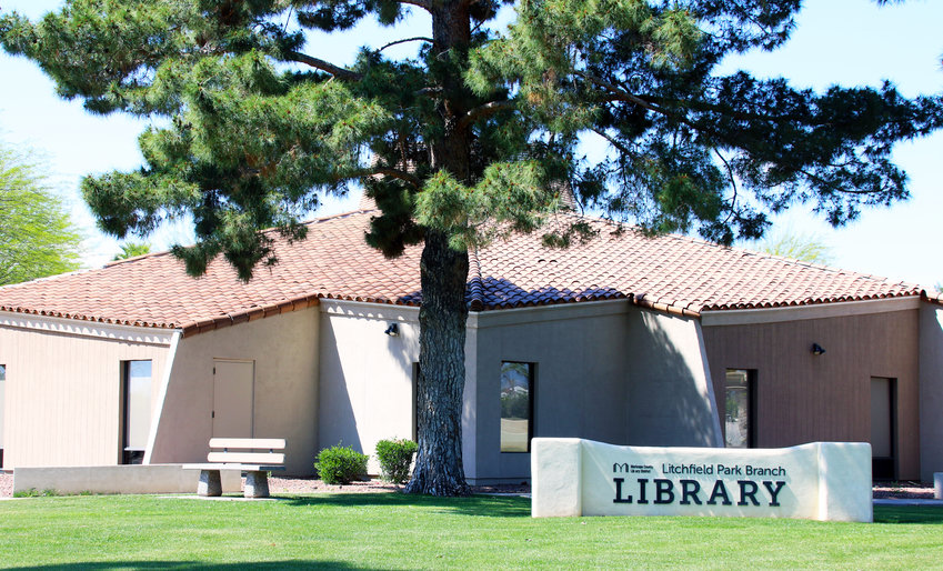 The Litchfield Park Branch Library is one of 15 county libraries that will begin offering curbside pickup Wednesday, April 22. It's also one of six that will offer walk-up service.