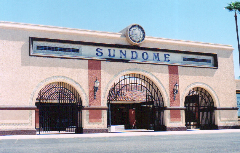 The Sundome Performing Arts Center in its heyday.