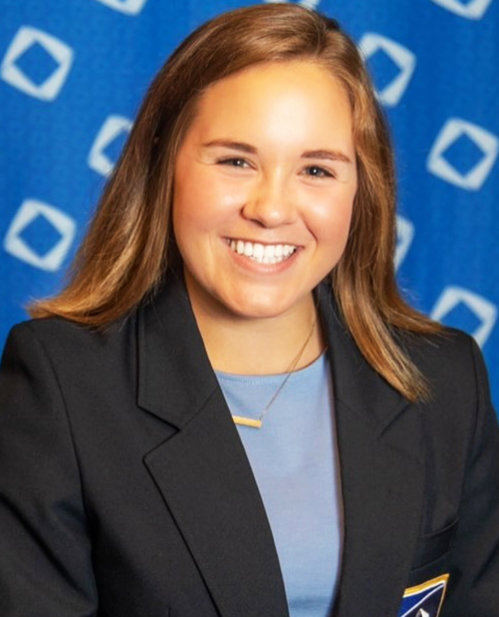 Catherine Horton is the 2020-21 DECA High School Division president at the International Level.